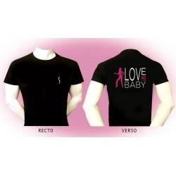 """T-Shirt """"Love me baby"""""""