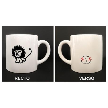 "Mug ""Lion rugissant"""