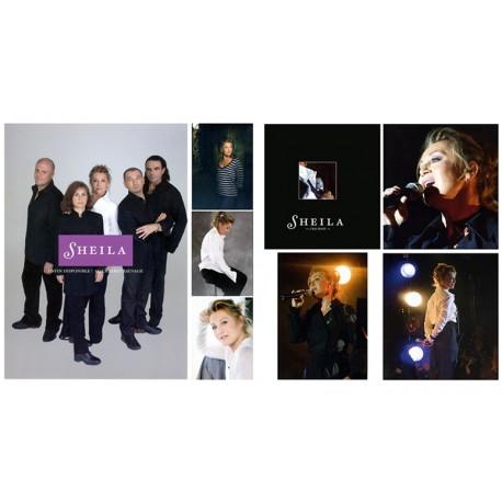 Programme Sheila et recueil de photos - Cabaret Sauvage 2006