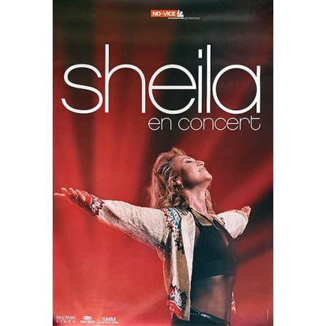 Affiche Sheila en concert 2002 80X120 cm