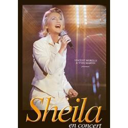Affiche Sheila en concert 1999 80X120 cm