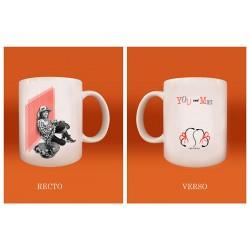 """Mug """"You and Me"""""""